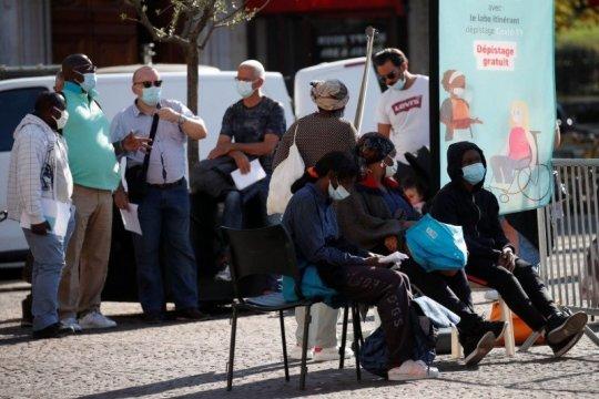 Prancis konfirmasi lonjakan drastis 8.051 kasus COVID-19