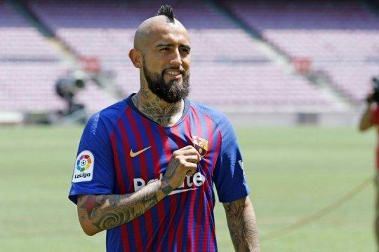 Ucapkan perpisahan, Vidal sebut dirinya bangga kenakan seragam Barca