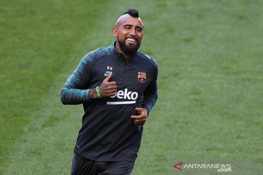 Arturo Vidal resmi merapat ke Inter Milan