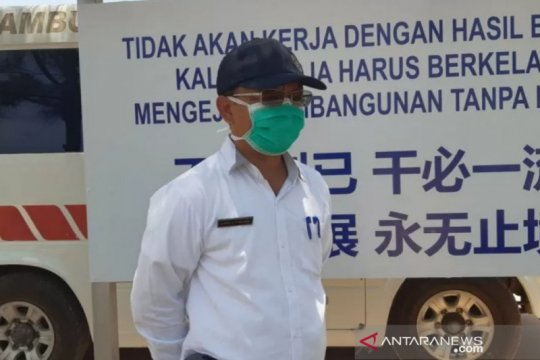 Puluhan santri Bintan terpapar COVID-19 dievakuasi ke Gedung LPMP