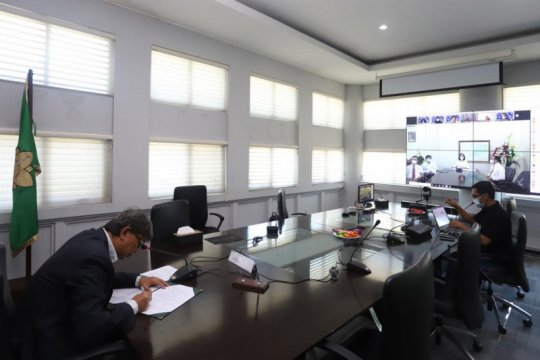 Unsyiah-Unsrat jalin kerja sama riset kebencanaan