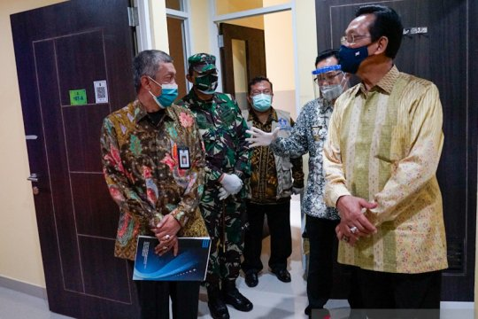 Selter Tegalarejo Yogyakarta dibuka tangani 19 pasien COVID-19