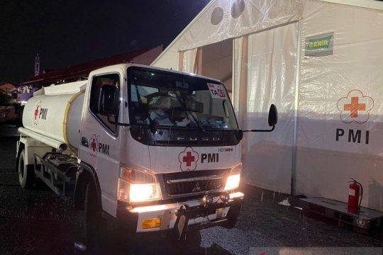 PMI pasok air bersih ke lokasi bencana banjir bandang Sukabumi