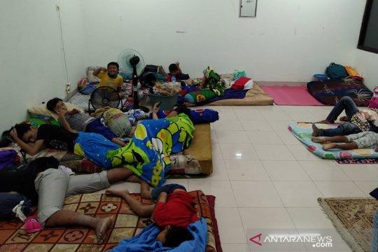 505 warga Pengadegan sempat mengungsi untuk antisipasi luapan Ciliwung