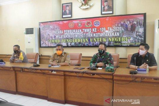 TMMD di Tarakan untuk tingkatkan akses ekonomi dan kesehatan
