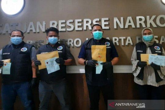 Polres Metro Jakpus tangkap 3 pengedar sabu berkedok komunitas ojol