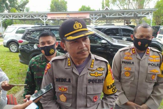 Ribuan polisi dikerahkan amankan penetapan Cakada di Bengkulu