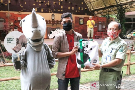 Hampir punah, Taman Safari Bogor kampanye cinta badak