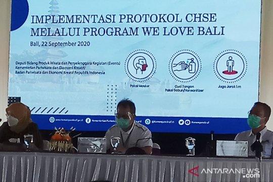 """Kemenparekraf promosi program """"We Love Bali"""" saat pandemi COVID-19"""