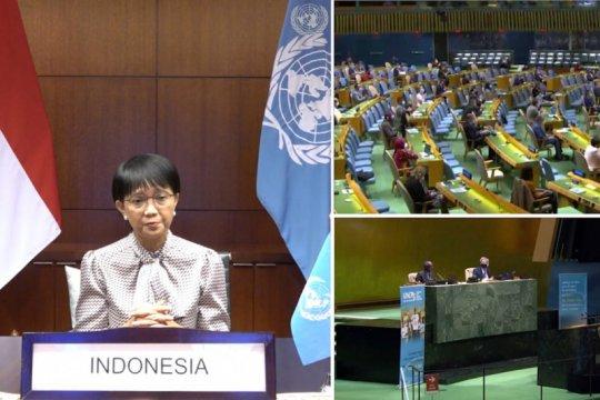Menlu RI: 75 tahun berdiri, PBB harus perkuat relevansi dan adaptasi