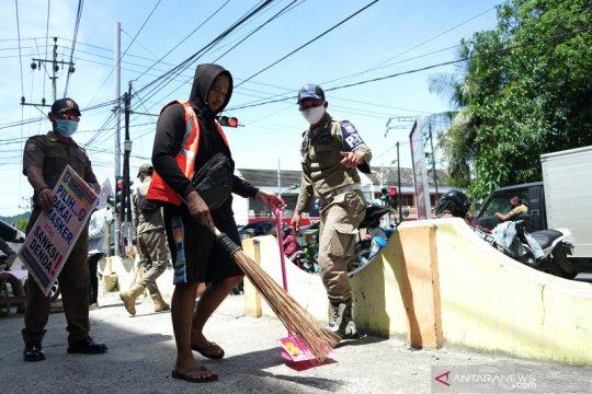 Delapan hari Operasi Yustisi petugas lakukan 834.771 kali penindakan