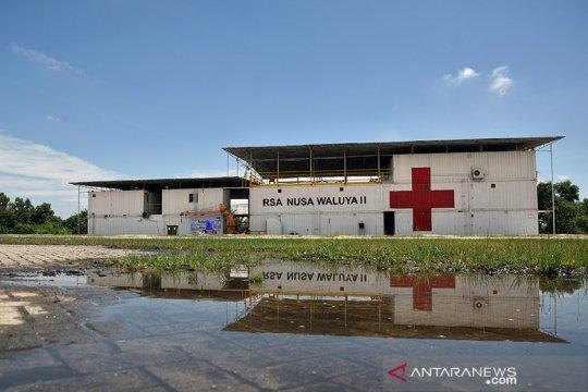 Satgas COVID-19 belum memerlukan bantuan RSA Nusa Waluya II