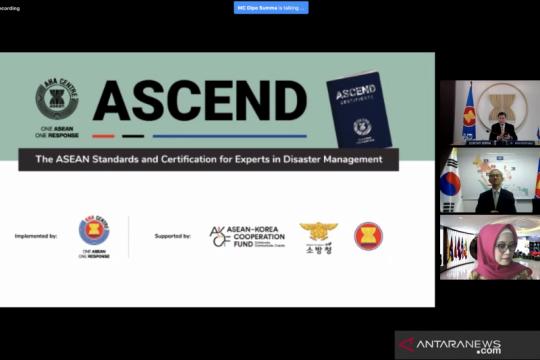 ASEAN, Korea kerja sama luncurkan program sertifikasi ahli kebencanaan