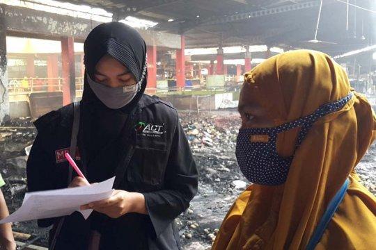 ACT Purwokerto bantu korban kebakaran di Pasar Wage