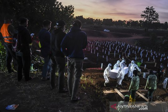 TPU Rorotan disiapkan jadi tempat pemakaman COVID-19