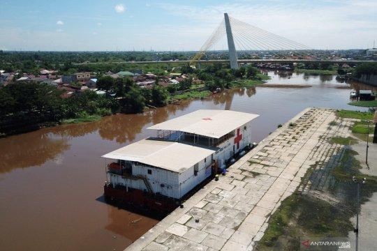 Rumah Sakit Apung Nusa Waluya II belum dapat izin beroperasi di Riau