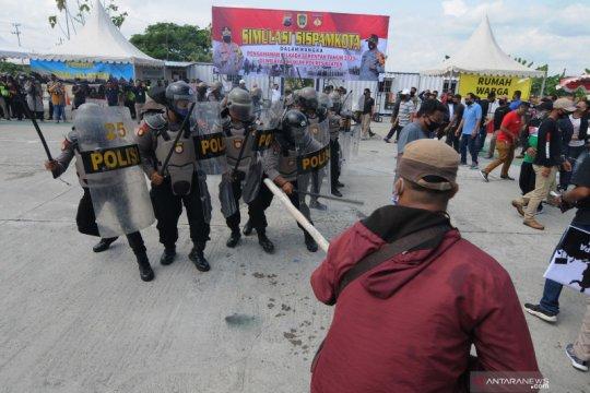 Satgas tak toleransi aktivitas politik timbulkan kerumunan
