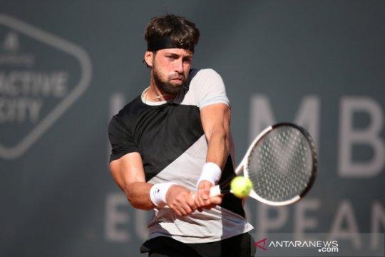 Kalahkan Agut, Basilashvili sabet gelar perdana Qatar Open