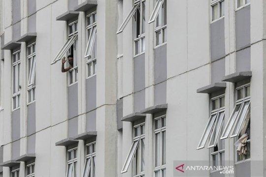 Pasien pengguna flat isolasi mandiri RSD Wisma Atlet berkurang 109