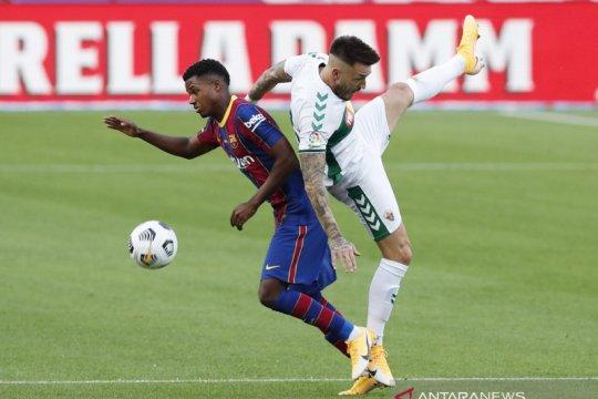 Ansu Fati resmi perpanjang kontrak di Barcelona