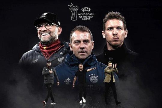 Tiga juru taktik Jerman bersaing dalam nominasi Pelatih Terbaik UEFA