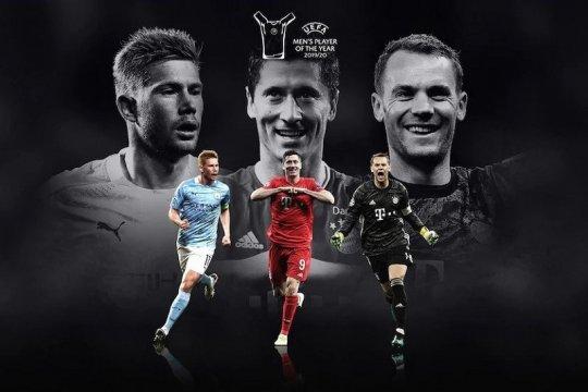 Duo Bayern apit De Bruyne dalam nominasi Pemain Terbaik UEFA