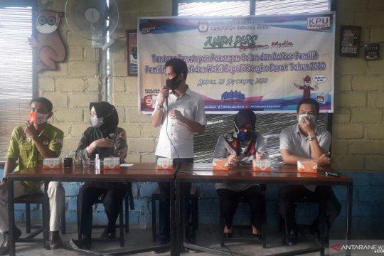 Tiga pasangan penuhi syarat pencalonan peserta Pilkada Bangka Barat