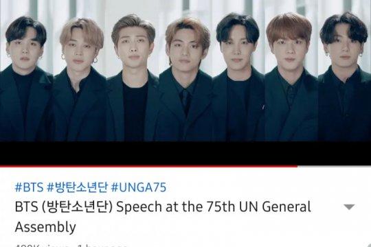 BTS suarakan anak muda jangan menyerah di masa sulit pandemi COVID-19