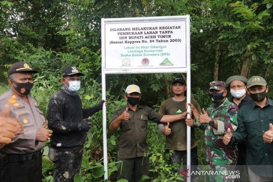 Lindungi populasi, Aceh Timur akan miliki Suaka Badak Sumatera