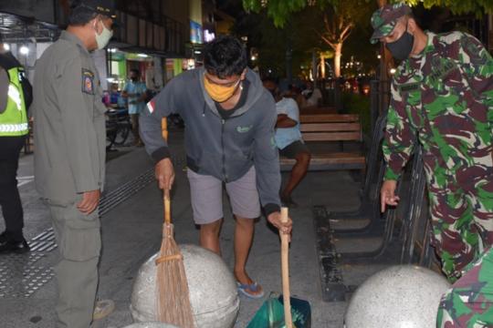 Satpol PP Yogyakarta catat anak muda dominasi pelanggar aturan masker