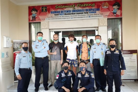 Imigrasi Bali catat WN Rusia terbanyak dideportasi selama tahun 2020