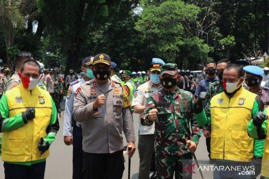10 ribu ojek daring jadi pengawas protokol kesehatan di DKI Jakarta