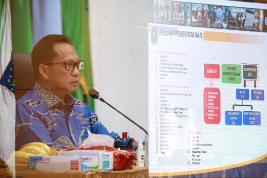 Mendagri: Camat harus mampu terjemahkan kebijakan kepala daerah