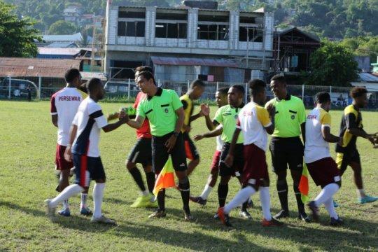 Persewar Waropen menang atas Asnab FC dalam laga uji coba