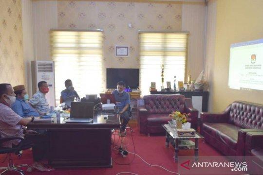 KPU Kabupaten Gorontalo tetapkan empat paslon bupati-wabup