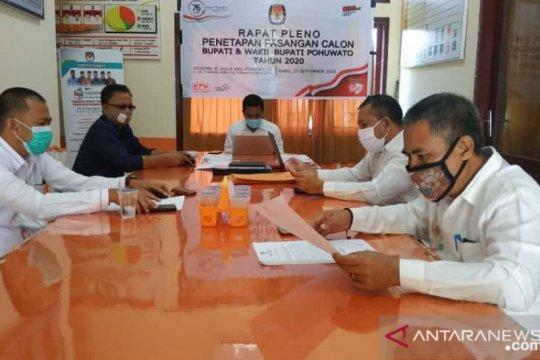 KPU Pohuwato tetapkan empat paslon di Pilkada serentak 2020