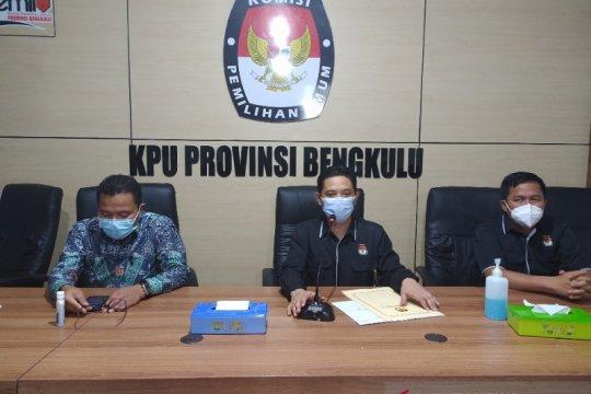 Pilkada Bengkulu diikuti dua pasangan calon