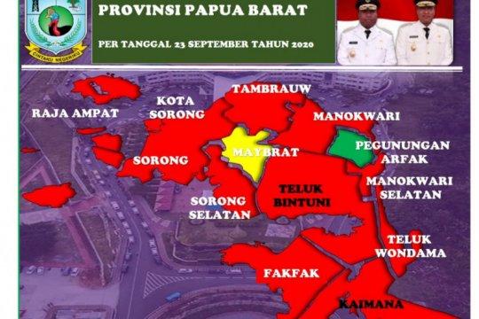 Bertambah 87, positif COVID-19 Papua Barat kini 1.674