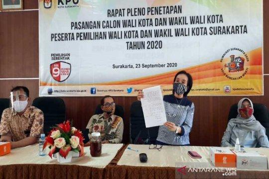 KPU tetapkan Gibran-Teguh dan Bajo calon Pilkada Surakarta