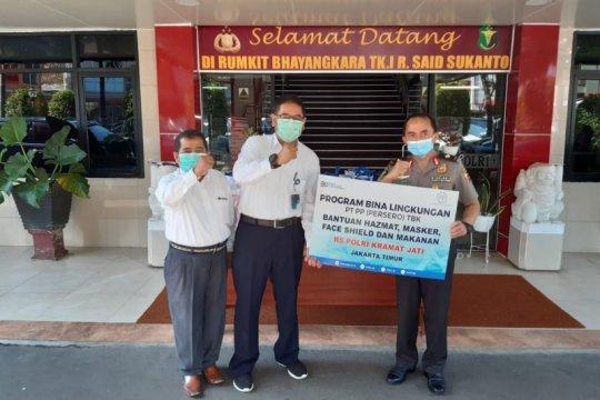 PT PP salurkan bantuan logistik ke rumah sakit di Jakarta
