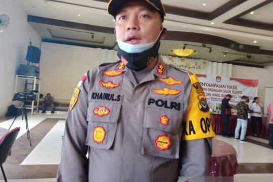 Polisi tindak tegas massa pendukung yang tak taat protokol kesehatan