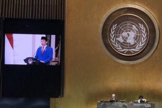 Kemarin, Jokowi di sidang PBB hingga Wapres bicara keselamatan rakyat