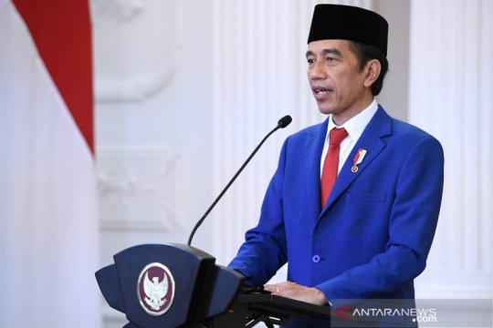 Pidato Presiden Jokowi terpilih tampil di laman utama UN News