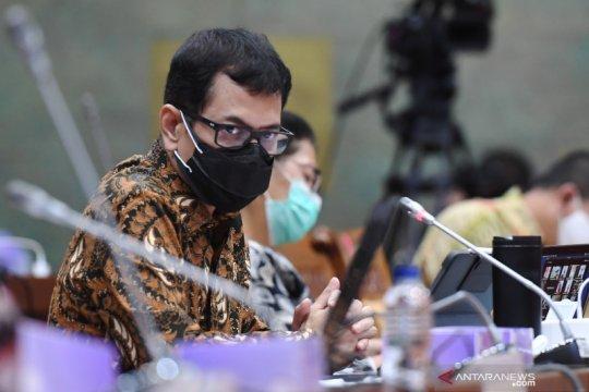 Raker Menparekraf dengan Komisi X DPR