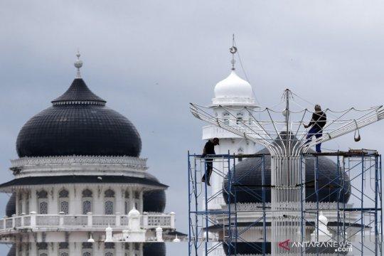 Revitalisasi taman kota di Banda Aceh