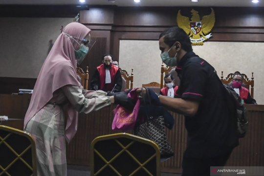 Pinangki klaim tak sebut nama Hatta Ali-Burhanuddin saat penyidikan