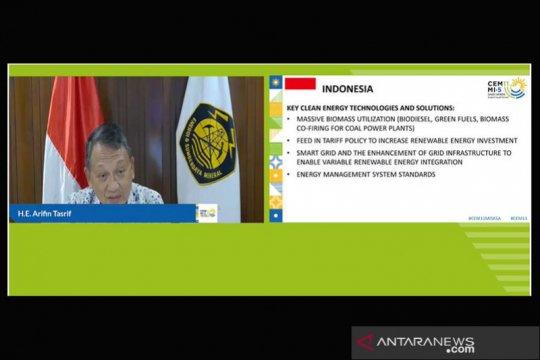 Hadiri CEM, Menteri ESDM paparkan langkah pemanfaatan energi bersih RI