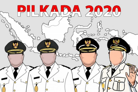KPU tetapkan empat pasangan calon di Pilkada Sumbar