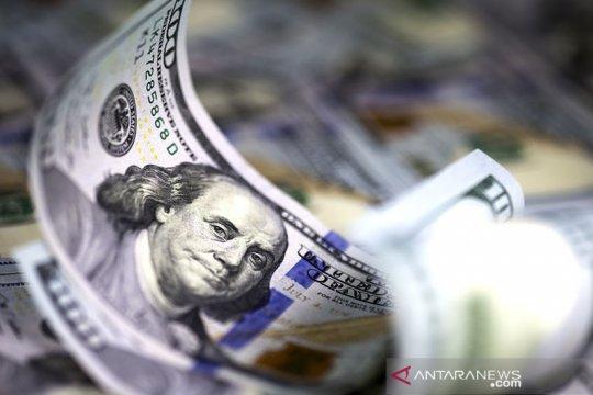 Dolar AS jatuh dari tertinggi dua bulan tertekan kenaikan ekuitas