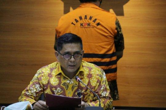 KPK jelaskan konstruksi perkara Hermansyah Hamidi sebagai tersangka